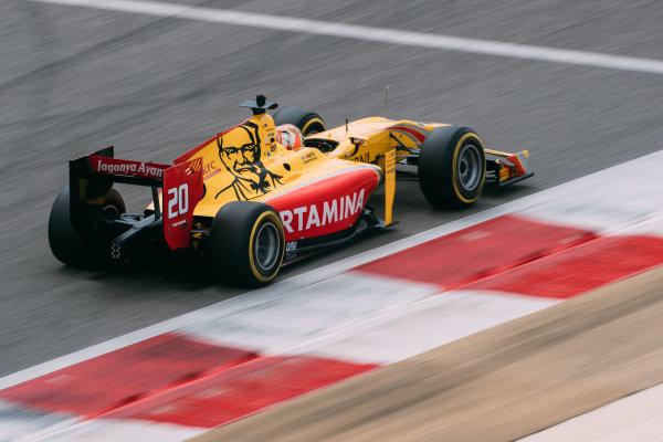 Bahrain International Circuit, Sakhir, Bahrain. Friday 31 March 2017 Norman Nato (FRA) Pertamina Arden  Photo: Malcolm Griffiths/FIA Formula 2 ref: Digital Image MALC9772