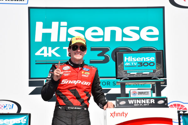 NASCAR Xfinity Series Hisense 4K TV 300 Charlotte Motor Speedway, Concord, NC USA Saturday 27 May 2017 Ryan Blaney, Snap-On Ford Mustang World Copyright: Rusty Jarrett LAT Images ref: Digital Image 17CLT2rj_9594