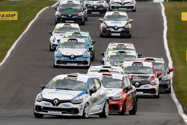 2017 Renault Clio Cup, Oulton Park, 20th-21st May 2017, Mike Bushell (GBR) Team Pyro Renault Clio Cup World copyright. JEP/LAT Images
