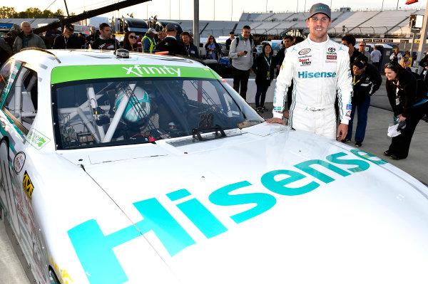24 April, 2015, Richmond, Virginia USA Denny Hamlin, Hisense Toyota Camry ? 2015, Nigel Kinrade LAT Photo USA