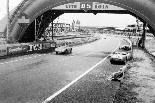 Le Mans, France. 21-22 June 1958.