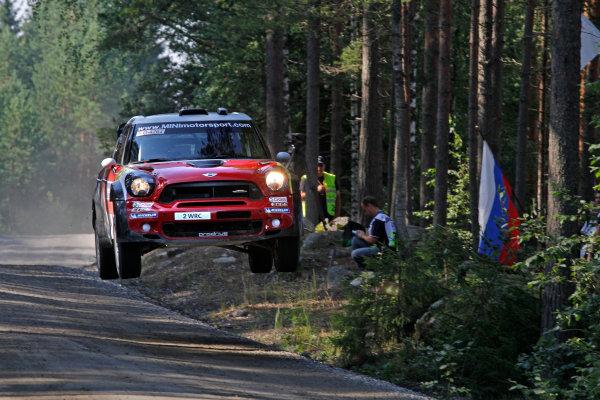 Round 8, Rally Finland, 28th - 30th July 2011Kris Meeke, MINI, ActionWorldwide Copyright: LAT/McKlein