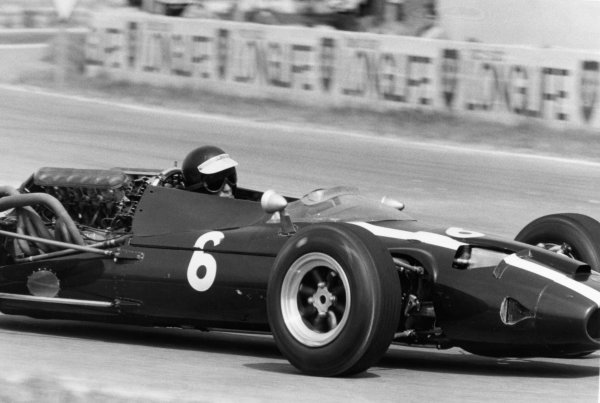 Reims, France. 3rd July 1966.Jochen Rindt, (Cooper T81-Maserati), 4th position, action.World Copyright: LAT Photographic.