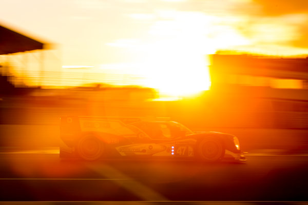 2016 Le Mans 24 Hours. Circuit de la Sarthe, Le Mans, France. Saturday 18 June 2016. KCMG / Oreca 05-Nissan - Tsugio Matsuda (JPN), Matthew Howson (GBR), Richard Bradley (GBR).  World Copyright: Zak Mauger/LAT Photographic ref: Digital Image _79P7666