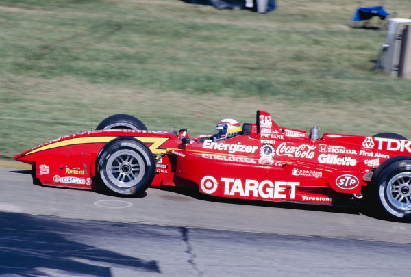 1997 PPG CART World Series.Cleveland, Ohio, USA.12-13 July 1997. Alessandro Zanardi (Chip Ganassi Racing/Reynard 97i Honda) 1st position.World Copyright - Jed Leicester/LAT Photographic