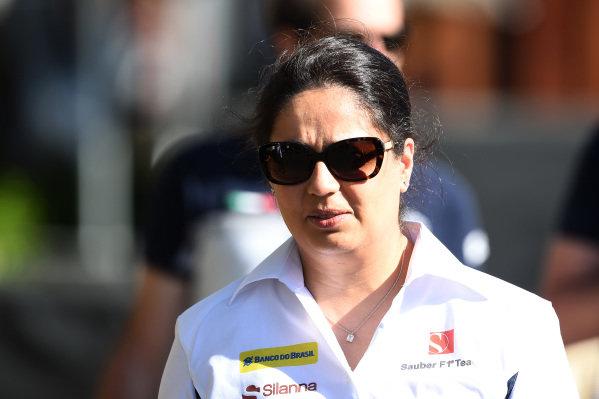 Monisha Kaltenborn (AUT) Sauber Team Prinicpal at Formula One World Championship, Rd1, Australian Grand Prix, Preparations, Albert Park, Melbourne, Australia, Thursday 17 March 2016.