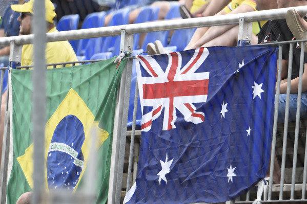 Fan banners.