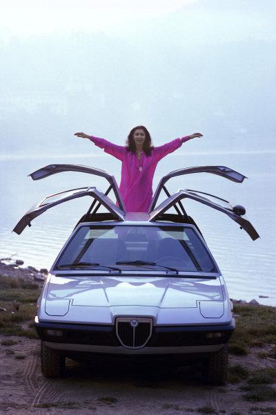 Concept Car, Michelotti Lancia Beta Mizar 4, 1974