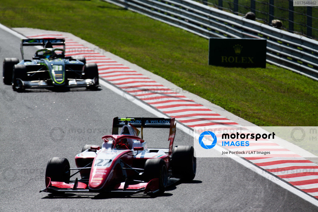 HUNGARORING, HUNGARY - AUGUST 04: Jehan Daruvala (IND, PREMA Racing) during the Hungaroring at Hungaroring on August 04, 2019 in Hungaroring, Hungary. (Photo by Joe Portlock / LAT Images / FIA F3 Championship)
