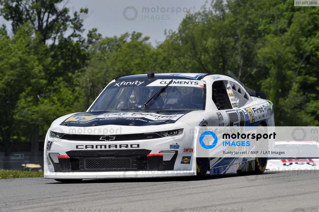 #51: Jeremy Clements, Jeremy Clements Racing, Chevrolet Camaro First Pacific Funding