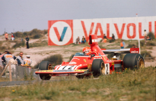 1974 Dutch Grand Prix.Zandvoort, Holland.21-23 June 1974.Niki Lauda (Ferrari 312B3) 1st position.Ref-74 HOL 03.World Copyright - LAT Photographic
