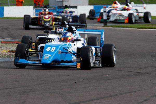 2016 BRDC F3 Championship, Donington Park, Leicestershire. 10th - 11th September 2016. Thomas Randle (AUS) Douglas Motorsport BRDC F3 World Copyright: Ebrey / LAT Photographic.