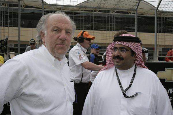 V8 Supercars Championship Round 12. V8 Supercars David Richards during the Desert 400 in Bahrainth. November 23-25, 2006. Mark Horsburgh