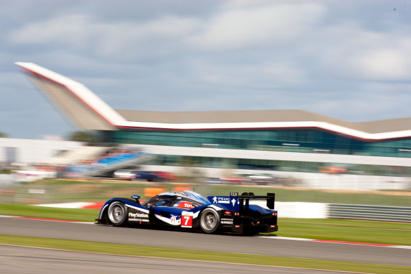 10th/11th&12th September 2011Silverstone, Northants.Pagenaud / Bourdais (#7 Peugeot Sport Total Peugeot 908, LMP1). Action.Image Copyright Malcolm Griffiths/LATDigital Image _H0Y2218 jpg