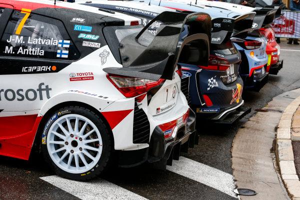 2018 FIA World Rally Championship,Round 01, Rallye Monte-Carlo 2018,January 25-28, 2018.2018 WRC Cars, group, photoshoot, Worldwide Copyright: McKlein/LAT