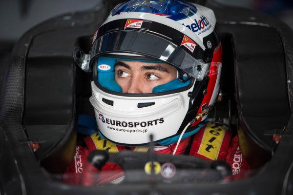 2018 GP3 Series Test 1. Circuit Paul Ricard, Le Castellet, France. Thursday 22 February 2018. Giuliano Alesi (FRA, Trident) Photo: Andrew Ferraro/GP3 Series Media Service. ref: Digital Image _X0W8876