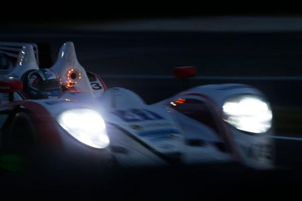 2014 Le Mans 24 Hours. Circuit de la Sarthe, Le Mans, France. Thursday 12 June 2014. Thomas Kimber-Smith (GBR), Chris Dyson (USA), Matthew McMurray (USA) - Greaves Motorsport, Zytek Z11SN-Nissan  Photo: Sam Bloxham/LAT ref: Digital Image _SBL9205