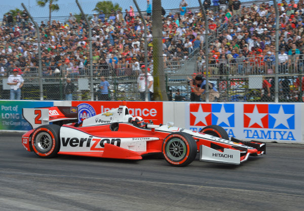 11-13 April, 2014, Long Beach, California USA #2 Juan Pablo Montoya Verizon Team Penske ©2014, Dan R. Boyd Lat Photo USA