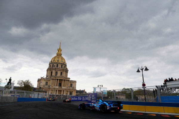 2015/2016 FIA Formula E Championship. Paris ePrix, Paris, France. Saturday 23 April 2016. Robin Frijns (NLD), Andretti - Spark SRT_01E. Photo: Glenn Dunbar/LAT/Formula E ref: Digital Image _89P5529A