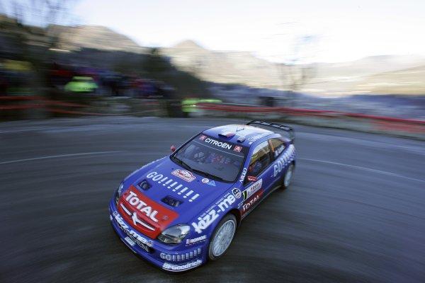 2006 FIA World Rally Champs. Round One, Monte Carlo Rally.19th - 22nd January 2006.Sebastien Loeb, Citroen. Action.World Copyright: McKlein/LAT