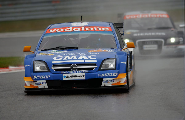 2005 DTM (German Touring Car) ChampionshipSpa-Francorchamps, Belgium. 13th - 15th May 2005 Marcel Fassler (Opel Vecrta GTS V8). Action World Copyright: Andre Irlmeier/LAT Photographicref: Digital Image Only