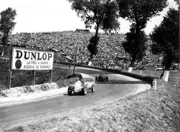 1934 Dieppe Grand Prix. Dieppe, France. 22 July 1934. World Copyright: LAT Photographic Ref: Autocar Glass Plate C4323