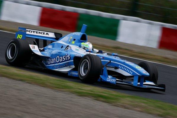2007 Formula Nippon ChampionshipSuzuka Circuit, Japan17th - 18th November 2007Race winner Satoshi Motoyama (Arabian Oasis IMPUL), 1st position. Action.World Copyright: Yasushi Ishihara/LAT Photographicref: Digital Image 2007FN_R9_003