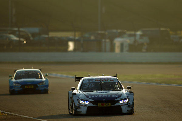 2017 DTM Round 9  Hockenheimring, Germany  Sunday 15 October 2017. Maxime Martin, BMW Team RBM, BMW M4 DTM  World Copyright: Alexander Trienitz/LAT Images ref: Digital Image 2017-DTM-HH2-AT3-1762