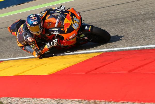 2017 Moto2 Championship - Round 14 Aragon, Spain. Saturday 23 September 2017 Brad Binder, Red Bull KTM Ajo World Copyright: Gold and Goose / LAT Images ref: Digital Image 694254