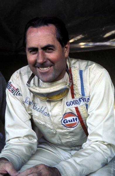 Jack Brabham (AUS) Formula One World Championship. 1969.