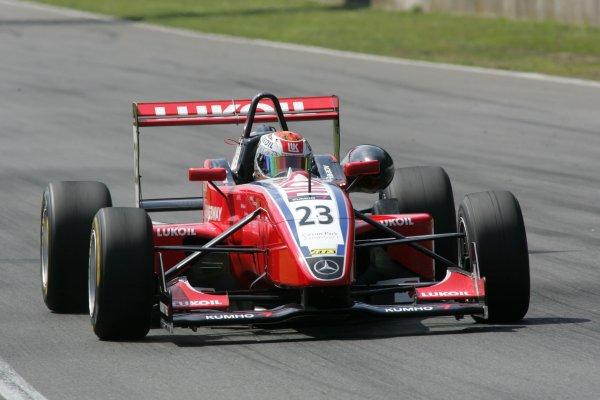2007 Zandvoort Masters of Formula Three.Zolder, Belgium. 4th and 5th August 2007.Sergey Afanasiev (RUS) HBR Motorsport Dallara MercedesWorld Copyright: Hoyer/Ebrey/LAT Photographic