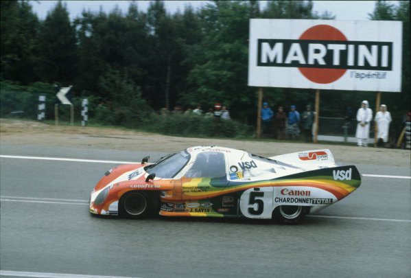 Le Mans, France. 9th - 10th June 1979 Jean Ragnotti/Bernard Darniche (Rondeau M379 Ford), 5th position, action. World Copyright: LAT Photographic Ref: 79LM23.