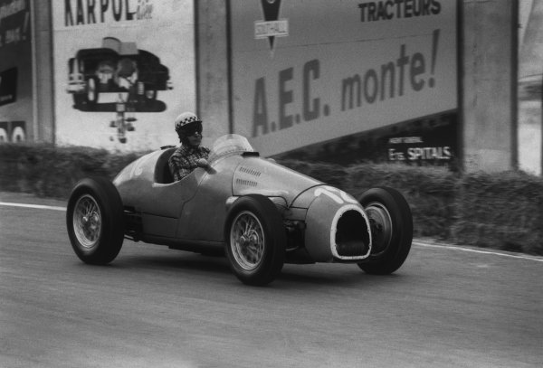 Spa-Francorchamps, Belgium. 20 June 1954.