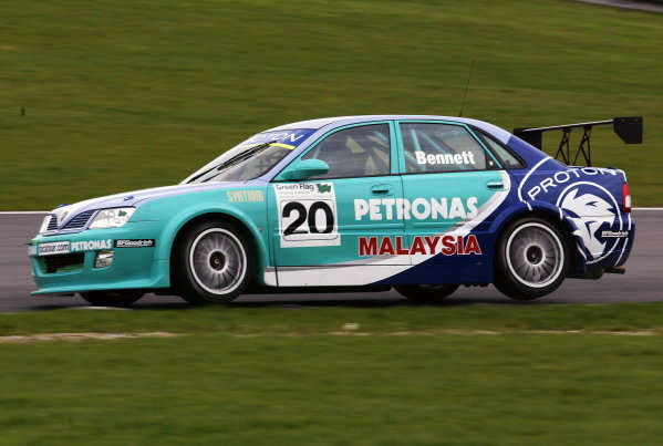 Phil Bennett (GBR) was testing the new PSP Proton Impian.