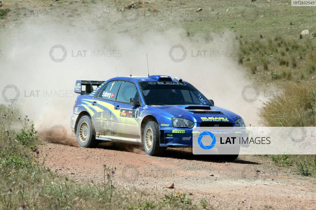 2004 FIA World Rally Champs. Round five, Cyprus Rally.