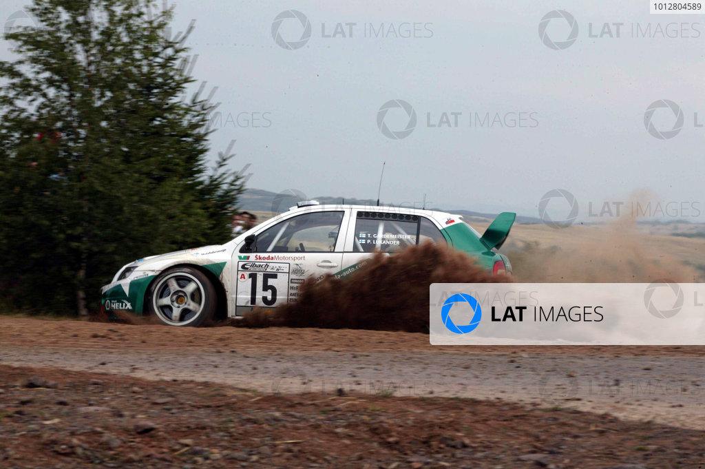 2003 FIA World Rally Champs. Round eight, Deutschland Rally