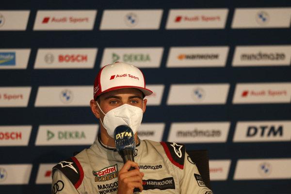 Press Conference, Nico Müller, Audi Sport Team Abt Sportsline.
