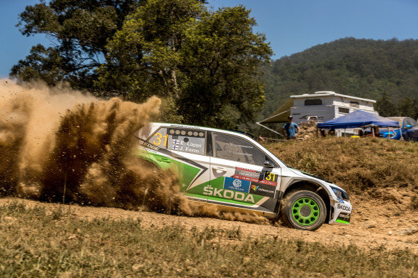 Esapekka Lappi (FIN) / Janne Ferm (FIN), Skoda Motorsport Skoda Fabia R5 RC2 at FIA World Rally Championship, Rd13, Rally Australia, Day Two, Coffs Harbour, New South Wales, Australia, 19 November 2016.