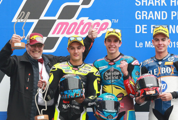 Navarro, Alex Marquez, Fernandez, Moto2 race, French MotoGP 2019