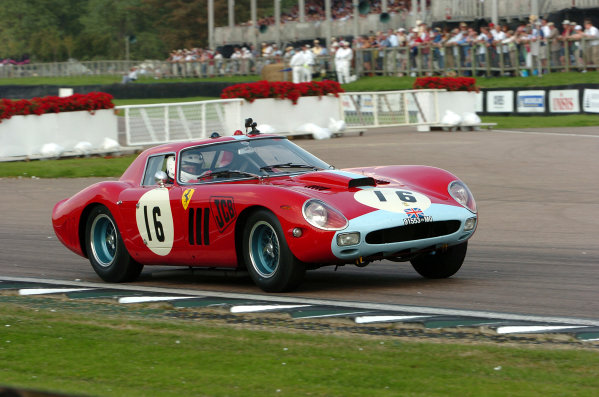 Goodwood, England. 3rd - 5th September 2004.Royal Automobile ClubCadenet/Bamford (Ferrari 250 GTO 64), action.World Copyright: Jeff Bloxham/LAT Photographicref: Digital Image Only