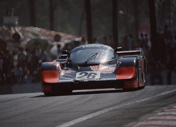 Jean Rondeau / John Paul, Jr., Henn's T-Bird Swap Shop, Porsche 956.
