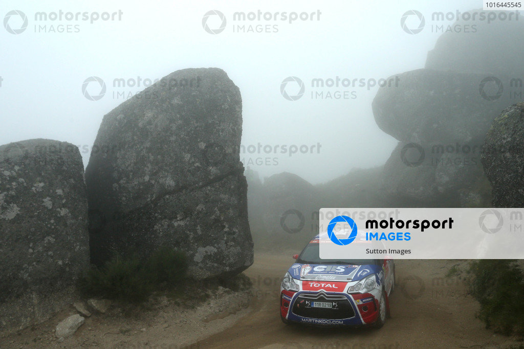 Terry Folb (FRA) / Franck Le Floch (FRA), Sebastien Loeb Racing Citroen DS3 WRC3 at World Rally Championship, Rd5, Rally Portugal, Day Two, Matosinhos, Portugal, 21 May 2016.