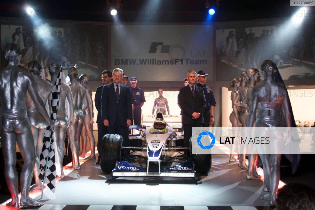 BMW WilliamsF1 Team launch