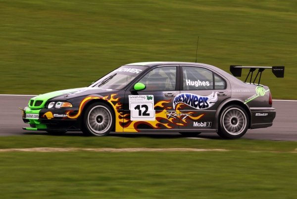 Warren Hughes (GBR) testing the MG Sport ZS.