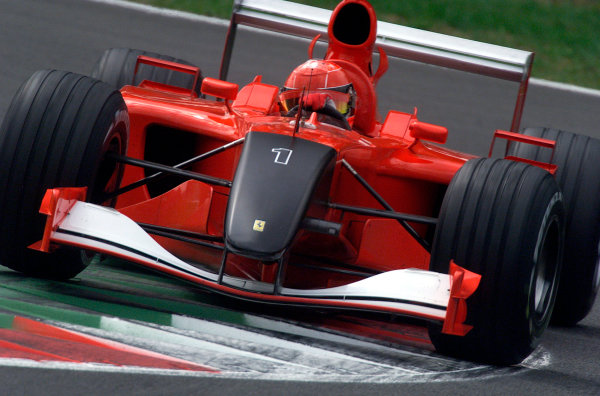 2001 Italian Grand Prix - Practice