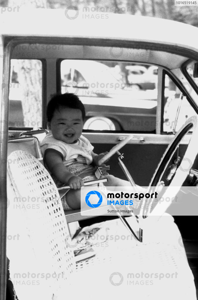 A young Taki Inoue (JPN), DOB 5 September 1963.