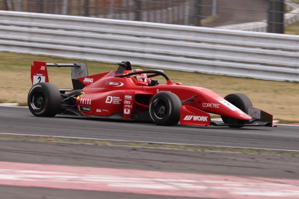 2021 SUPER FORMULA LIGHT Rd2 FUJI. Winner Ren Sato, TODA FIGHTEX, DALLARA 320