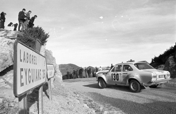 Timo Makinen / Henry liddon, Ford Escort Mki.