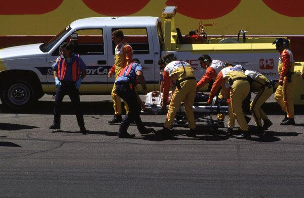 1993 CART IndyCar SeriesPhoenix, CA. USA. 4th April 1993Nigel Mansell, Lola T93/00 CosworthWorld Copyright - LAT Photographic