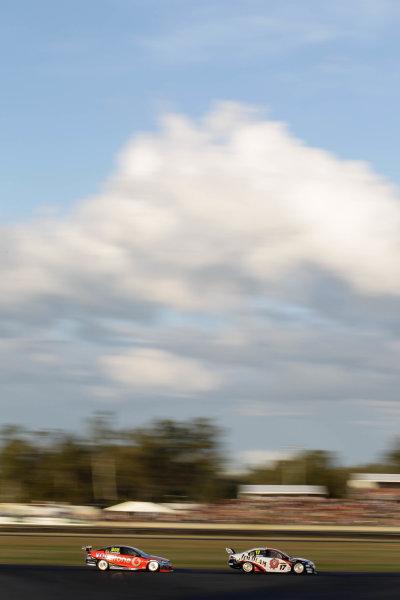 The City of Ipswich 300Queensland Raceway, Ipswich, Australia.14th - 16th May 2010.Car 17, DJR, Dick Johnson Racing, Falcon FG, Jim Beam Racing, Steven Johnson.World Copyright: Mark Horsburgh/LAT Photographicref: 17-Johnson-EV05-10-j1793